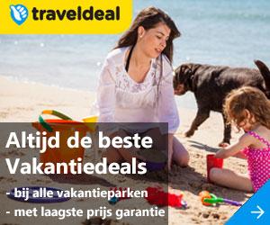 traveldeals vakantieparken in nederland banner