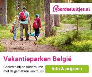 voordeeluitjes vakantieparken belgie banner