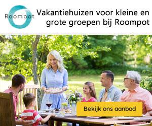 roompot vakantieparken banner