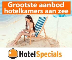 hotelspecials lastminutes aan zee banner